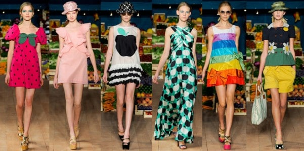 Moschino Cheap and chic primavera estate 2012