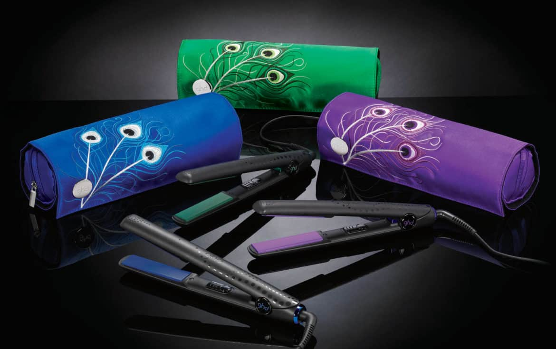 Nella ghd Peacock Collection anche la piastra si veste di eleganza!