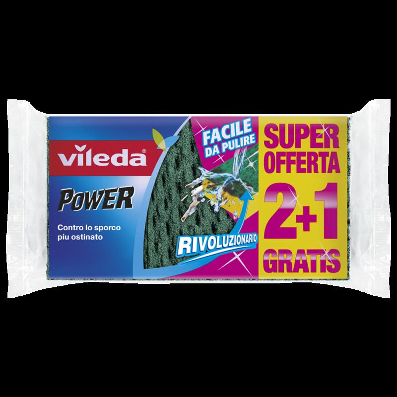 Panno spugna power 2in1 di Vileda