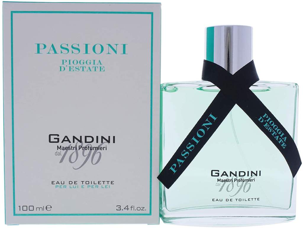 GANDINI PASSIONI: una nuova collezione di tre fragranze ispirate alla natura