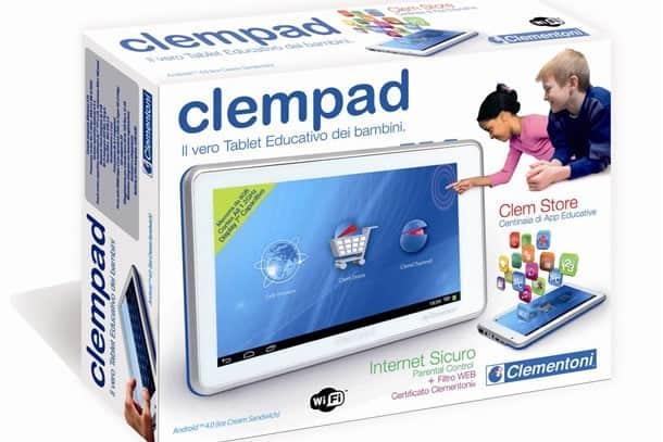 ClemPad : la novità Clementoni per il Natale 2012