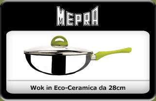 Padelle Eco – ceramica di Mepra