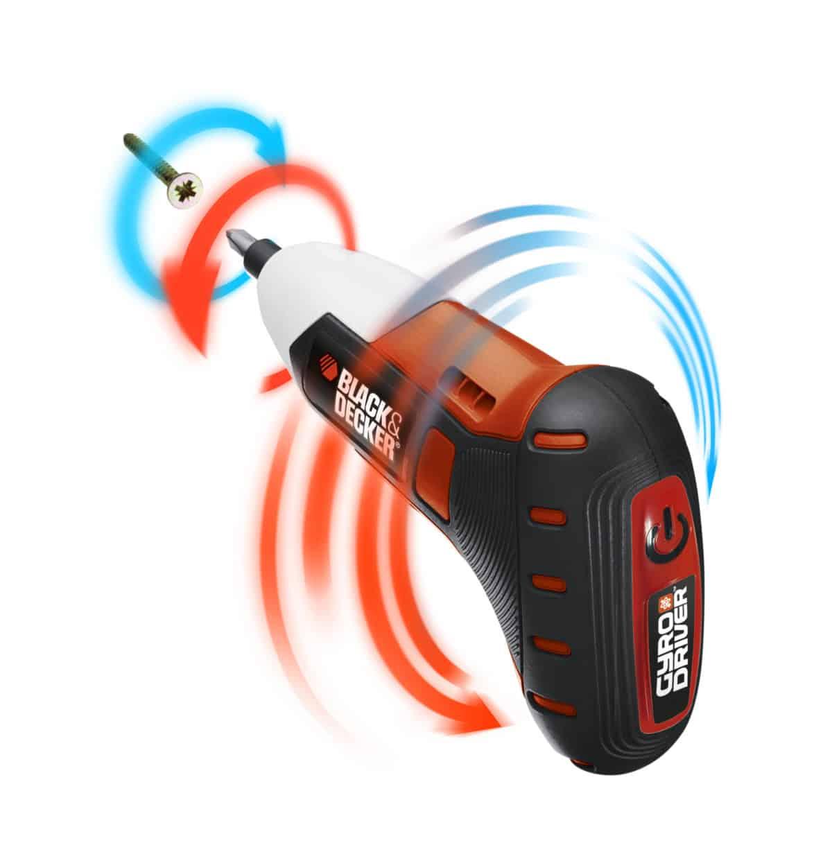 Gyro Driver Black&Decker® : il primo svitavvita a tecnologia Gyroscopica!