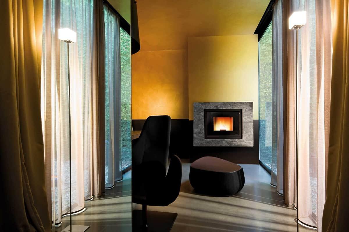 MCZ propone nuovi termocamini dall'estetica minimale ed elegante