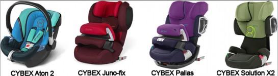 CYBEX: i seggiolini per auto più sicuri