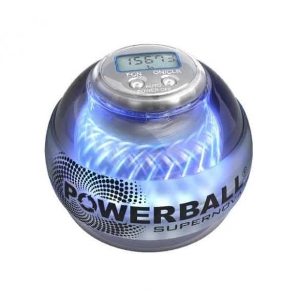 Powerball Supernova permette di allenare le braccia senza fatica