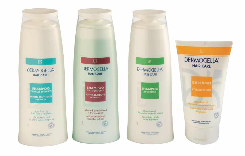 Capelli sfibrati? un aiuto da Shampoo Capelli sfibrati Dermogella