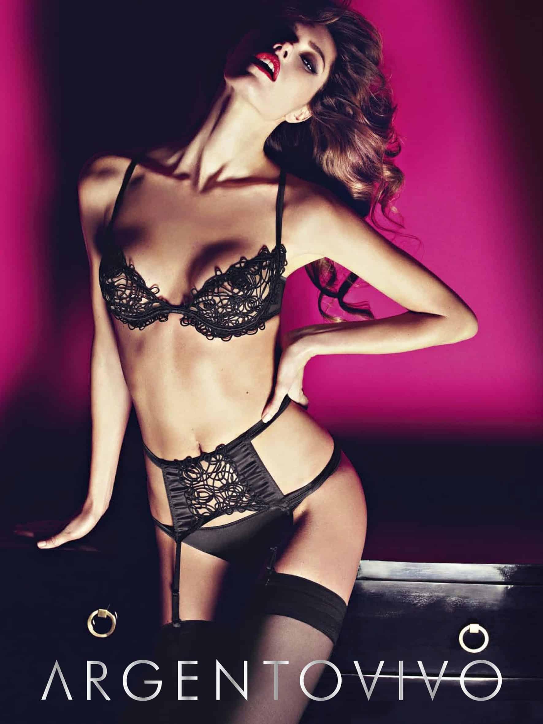 ARGENTOVIVO: lingerie per la donna che ama essere sensuale e raffinata