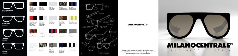 MILANOCENTRALE: il nuovo brand di occhiali in stile anni '50