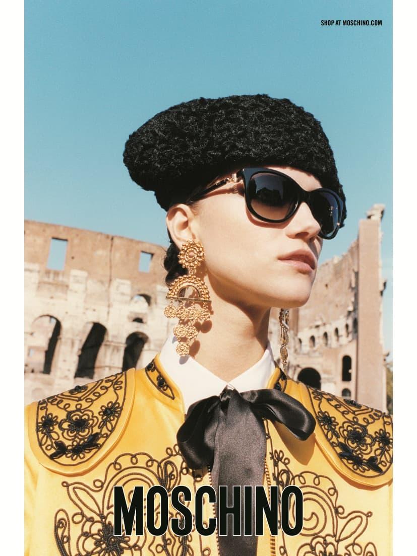 Collezione occhiali Moschino:ironica e molto femminile