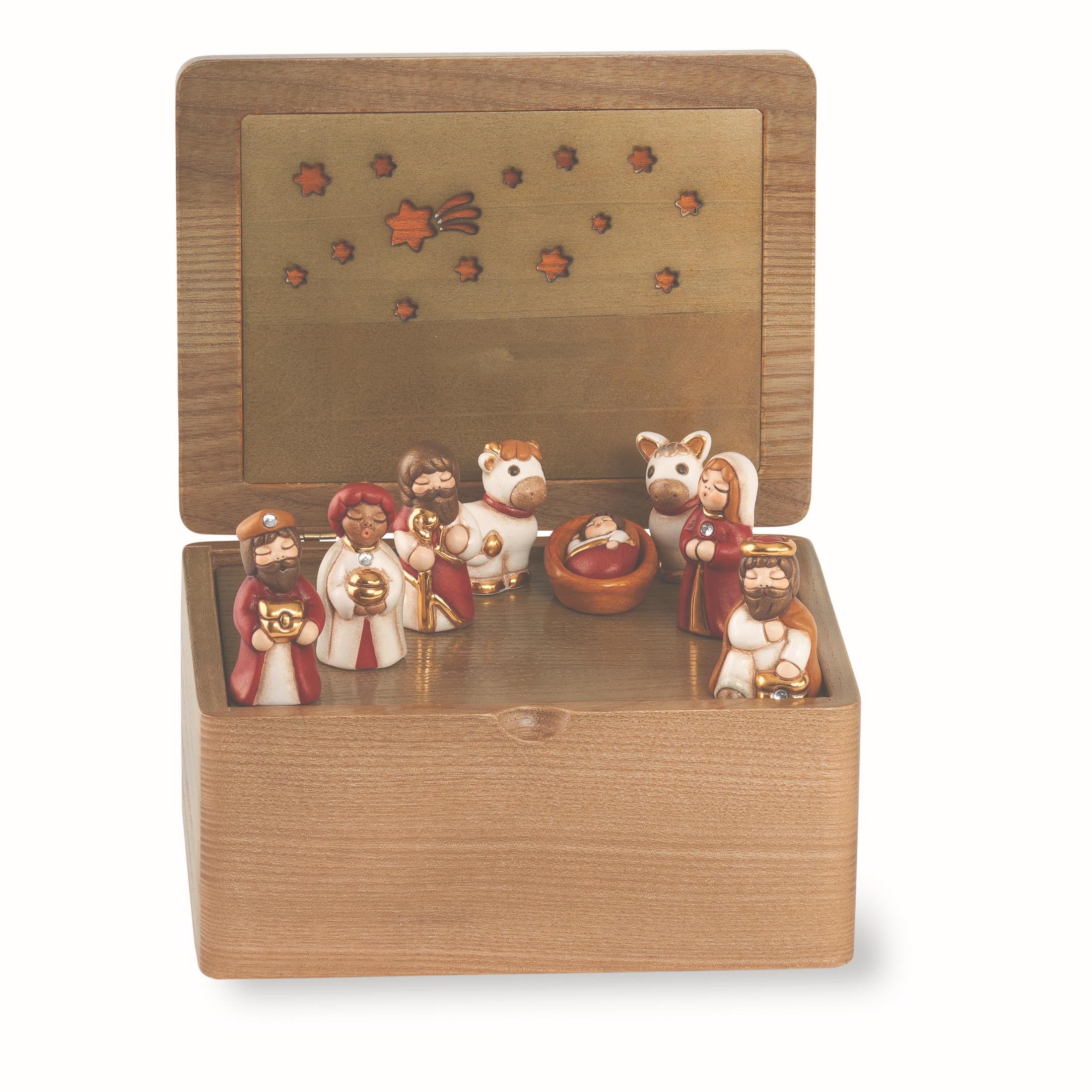 Un delizioso mini presepe per chi ha poco spazio da thun for Carillon thun prezzi