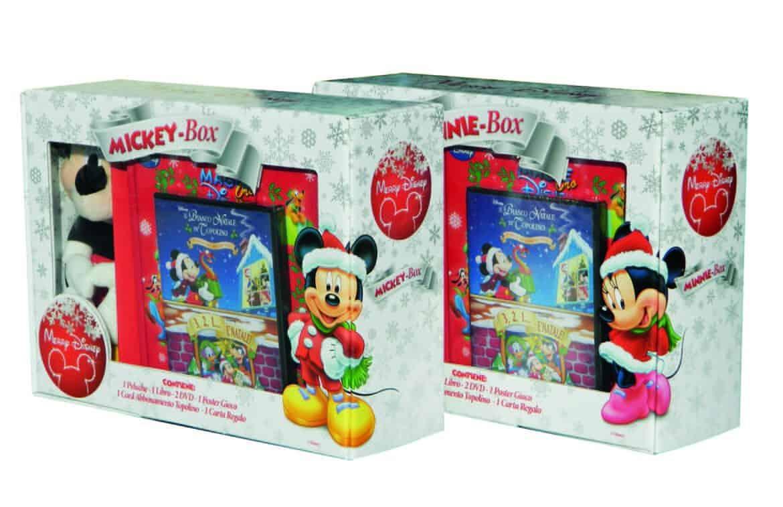 Merry Disney special gift box, per un Natale ricco di sorprese!