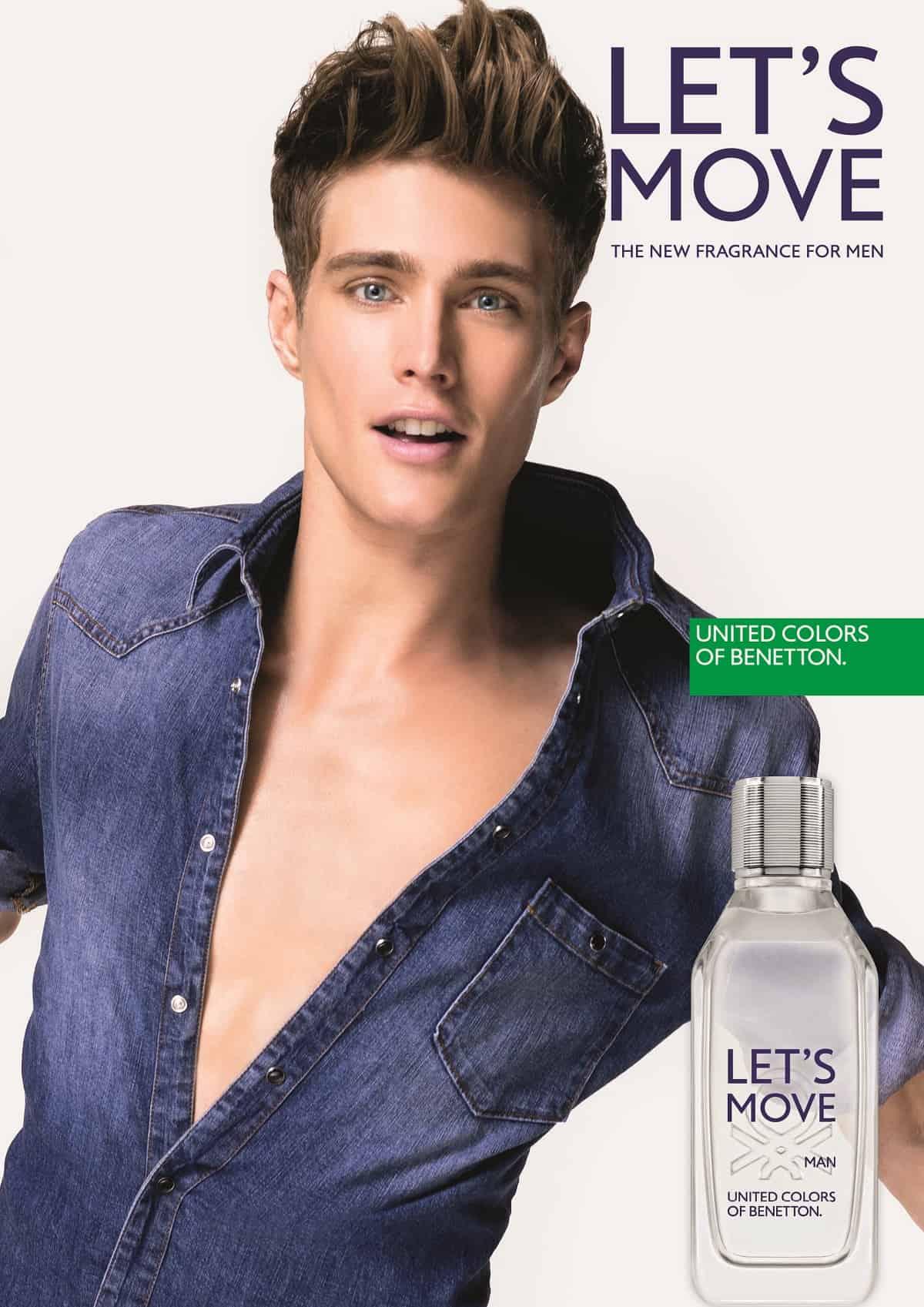 LET'S MOVE la nuova fragranza Benetton dedicata all'uomo contemporaneo