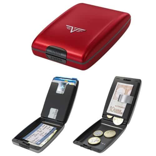 e033f9c6eb Tru Virtu, il portafoglio in alluminio colorato per banconote e cards