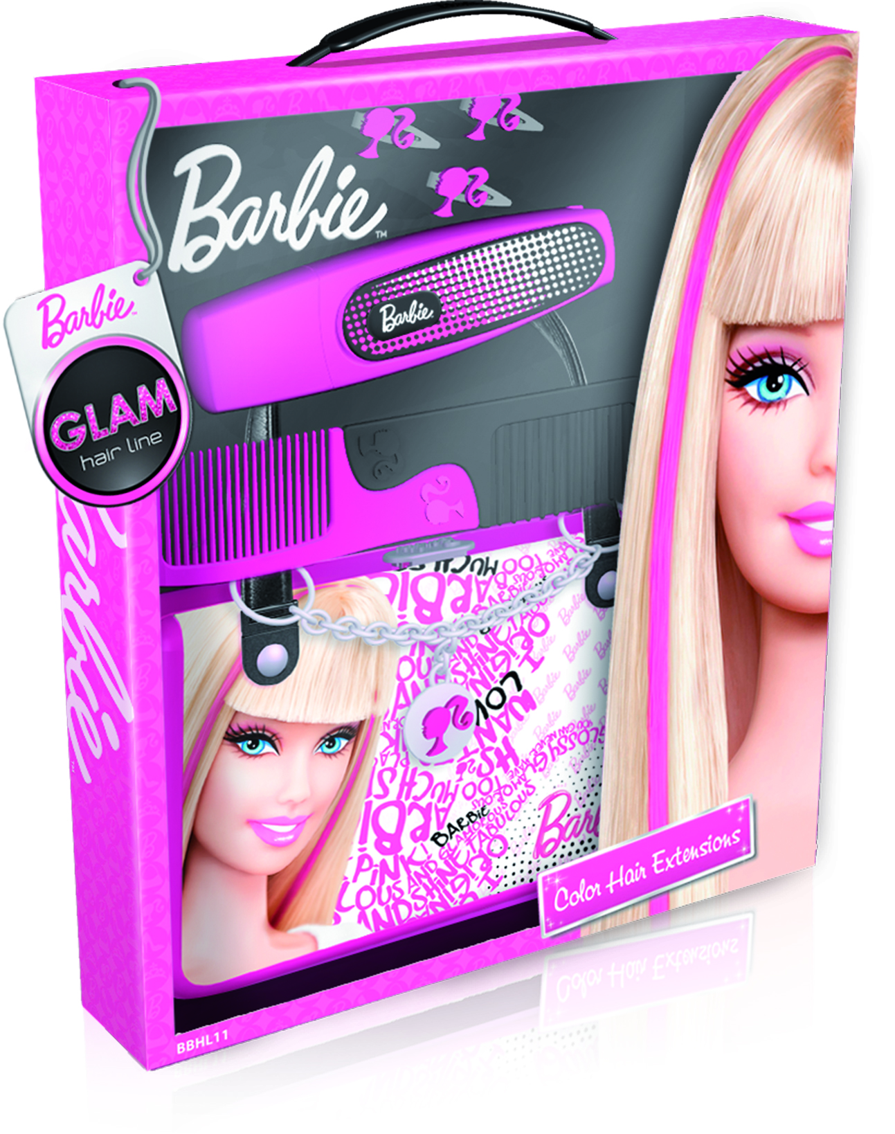 barbie set hair extention le shopping news. Black Bedroom Furniture Sets. Home Design Ideas