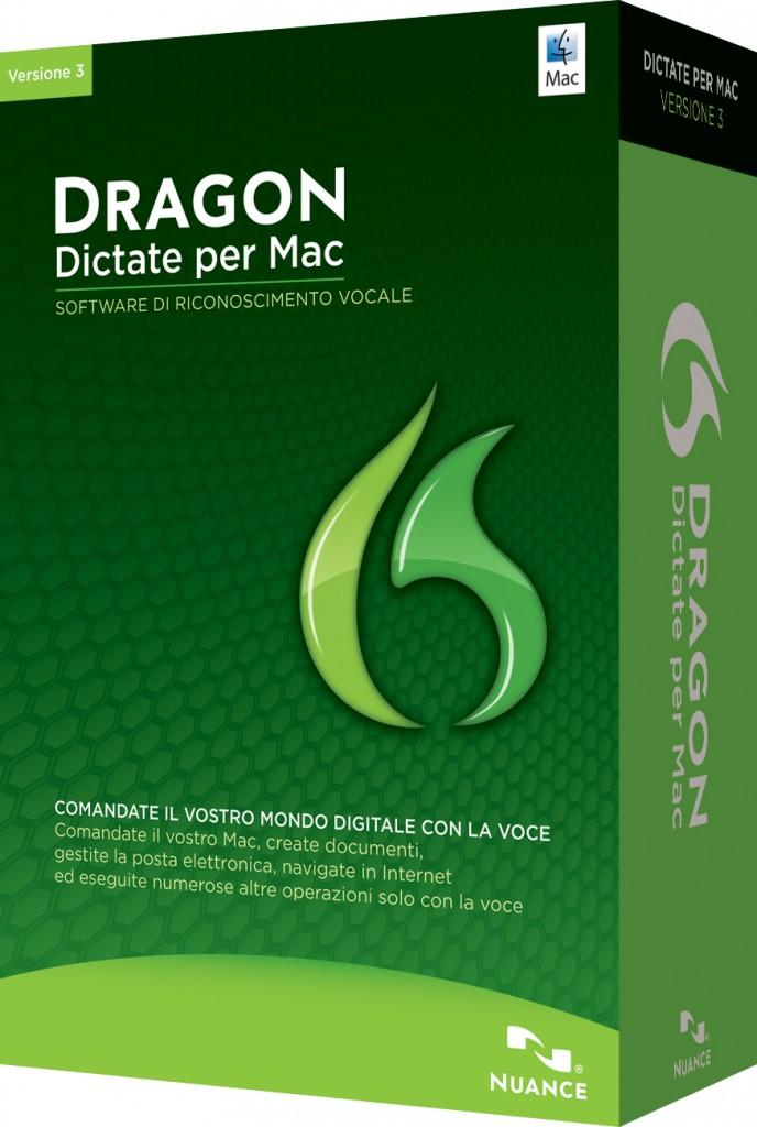 La versione 3 per Mac di Dragon Dictate arriva in Italia