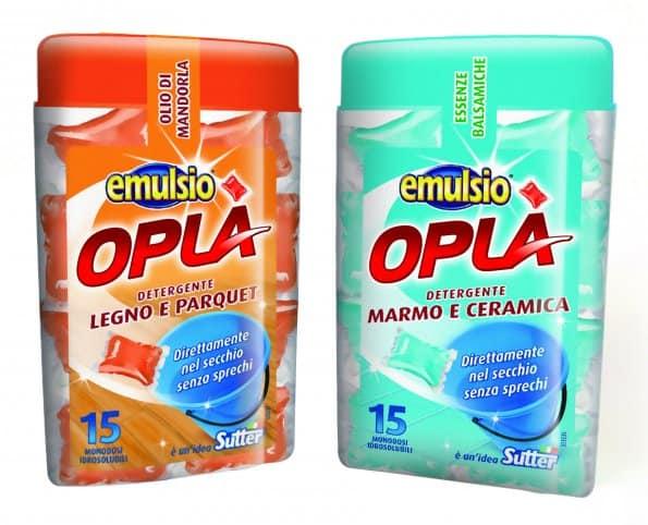 Emulsio Oplà e Mangiapolvere no-gas: due idee innovative per pulire ...