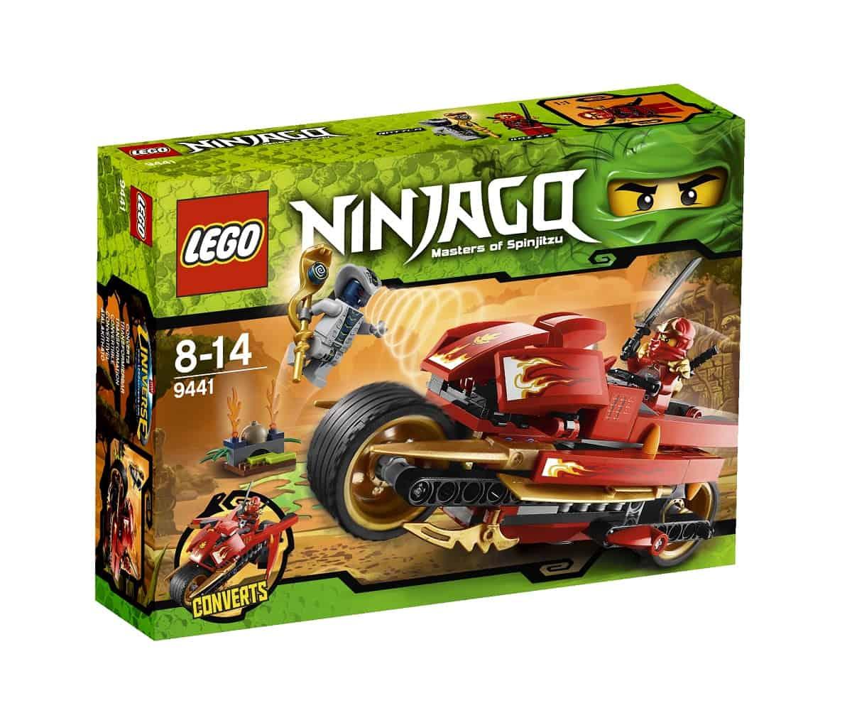 LEGO NINJAGO 2012: i nemici sono temibili serpenti!