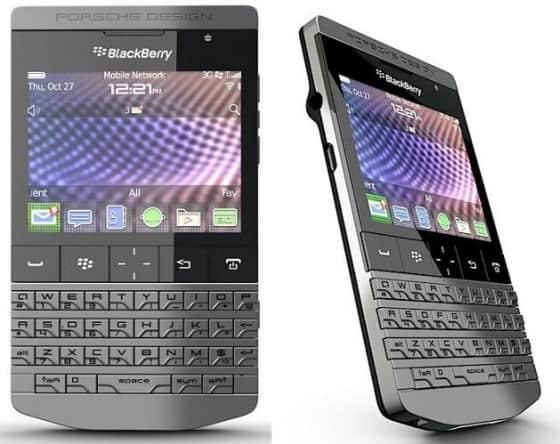Porsche design lancia il telefono blackberry leshoppingnews for Porsche design ufficio stampa