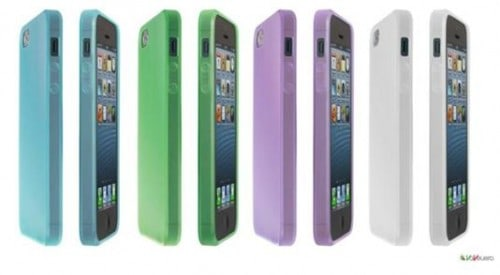 Light cover flexible iphone5