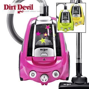 DIRT DEVIL : l'aspirapolvere POPSTER colora....le faccende domestiche!