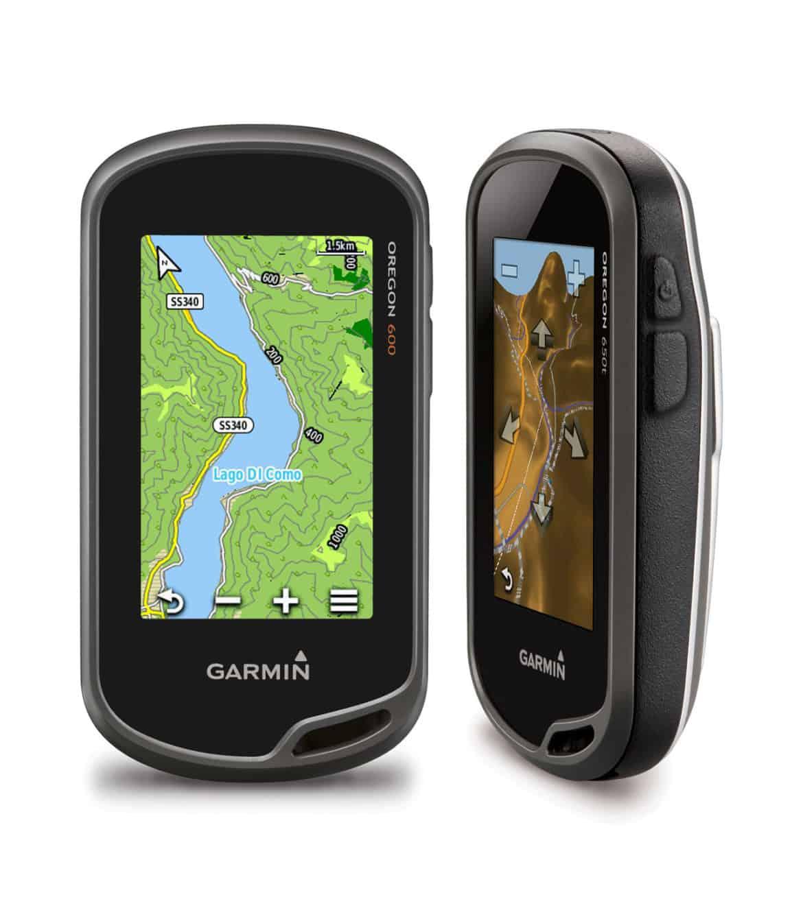 I nuovi GPS OREGON regalano sicurezza nelle attività outdoor