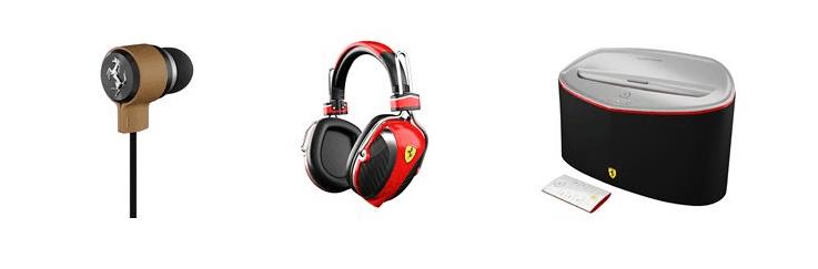 Tecnofuturo presenta FERRARI by Logic3, gli accessori audio premium