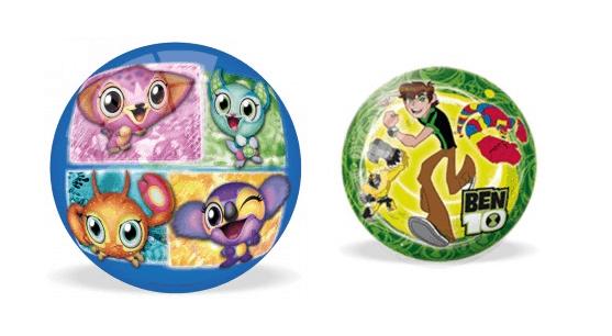 GLI ZOOBLES E BEN 10 raffigurati su palloni ...tutti da giocare!