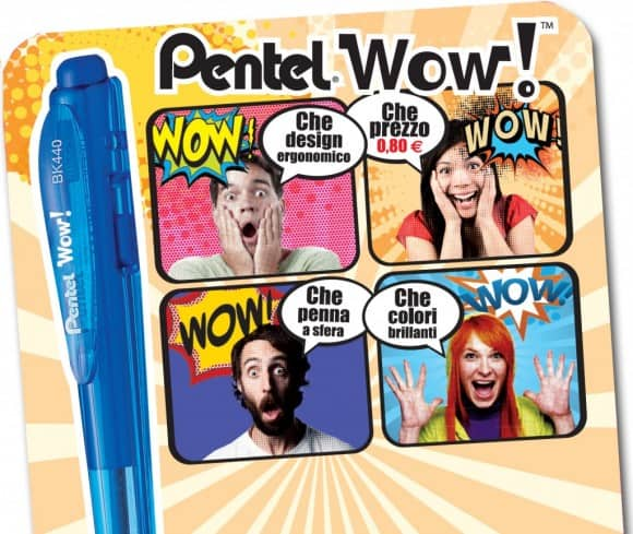 Pentel Wow: la penna che stupisce per qualità e...prezzo!