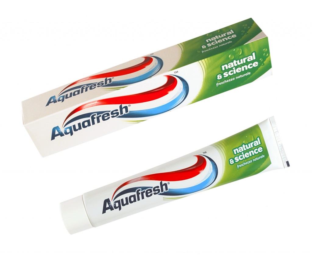 Da Aquafresh a ciascuno il suo dentifricio