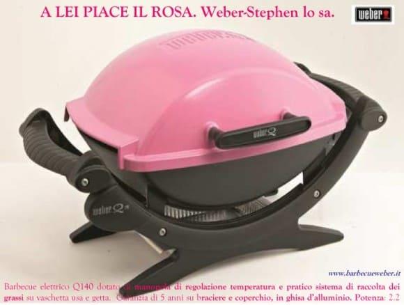 Arriva il Barbecue rosa! Da Weber-Stephen