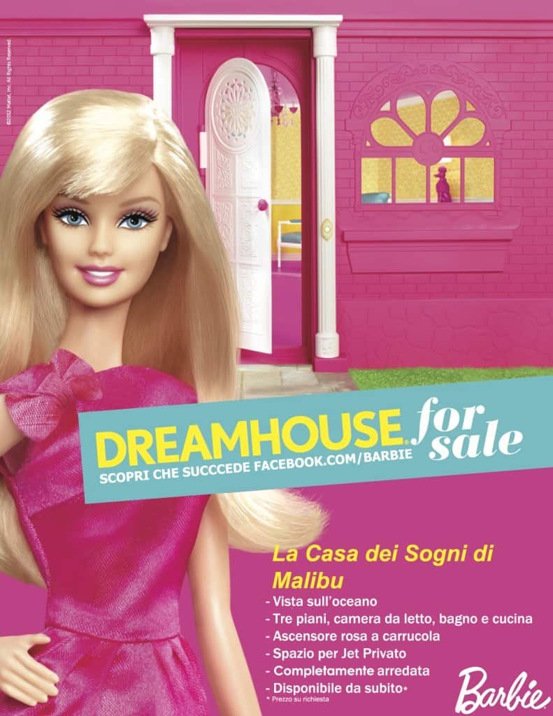 Barbie mette in vendita la casa dei sogni di malibu le for Casa di malibu di barbie
