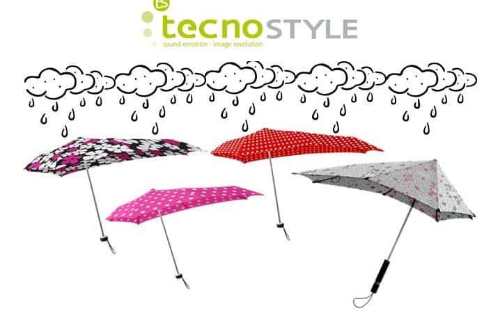Tecnostyle presenta SENZ, l'ombrello che non teme tempeste!