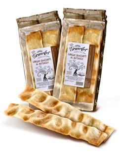 LINGUE CROCCANTI di Granart-L'albero del Pane: perfette per l'aperitivo o in tavola al posto del pane!