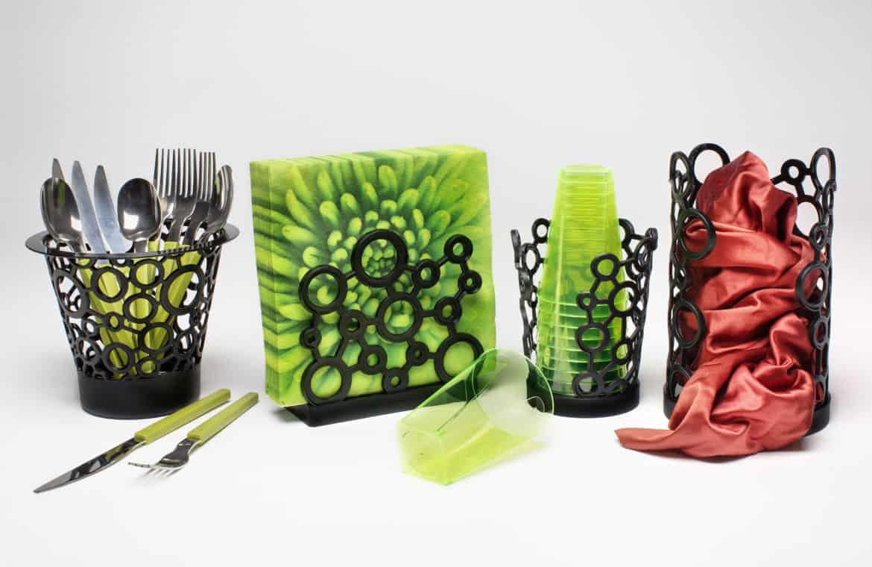 Da Gio Style oggetti per la cucina colorati e dal design accattivante. Oltretutto sono riciclabili!
