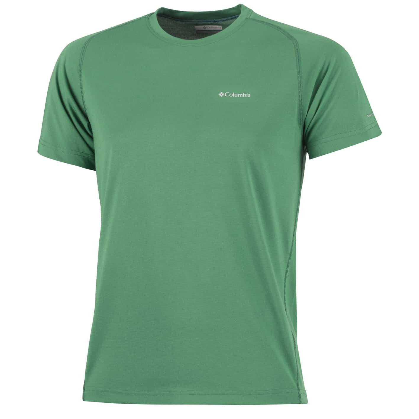 Mai più caldo quando si fa sport con la T-shirt Columbia!