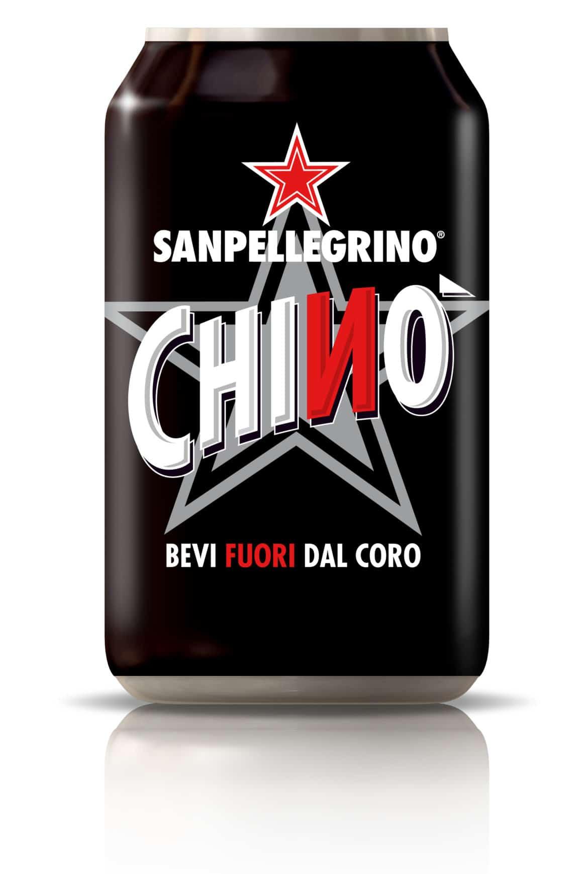 """Chinò Sanpellegrino, per bere """"FUORI DAL CORO"""""""
