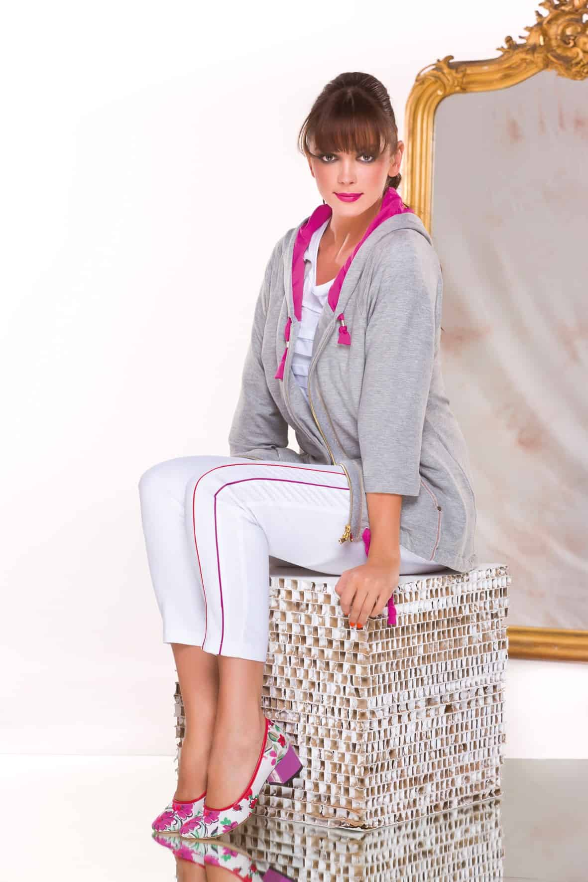 """Paola Joy luxury sportswear per tutte le donne """"curvy"""""""