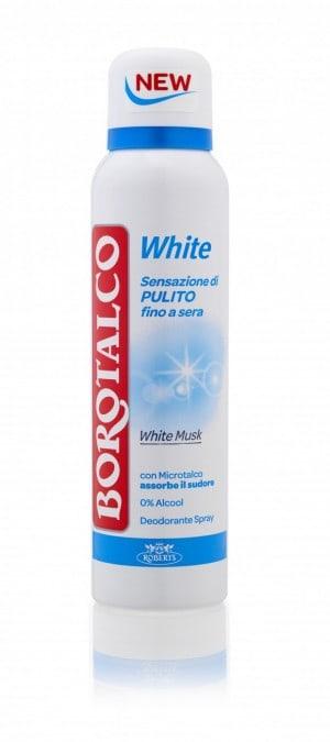 NUOVO DEO BOROTALCO WHITE : per una sensazione di pulito che dura 24 H!