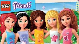 Arriva la primavera e le amiche di LEGO Friends si danno ai giochi all'aperto!