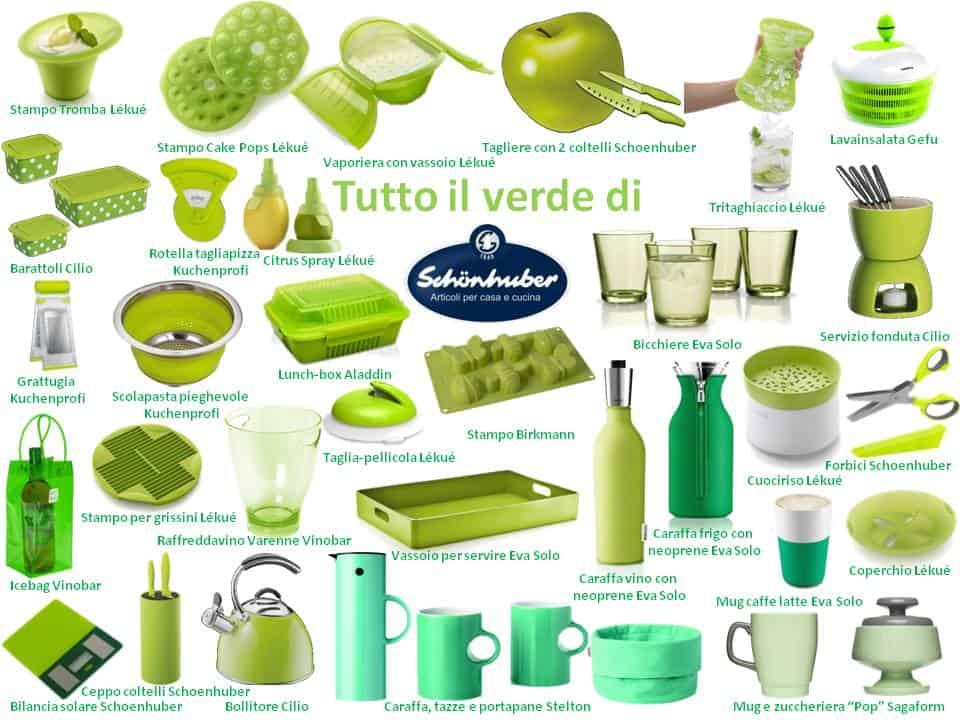 Verdi come l 39 erba dei prati di primavera gli oggetti per for Oggetti design per casa