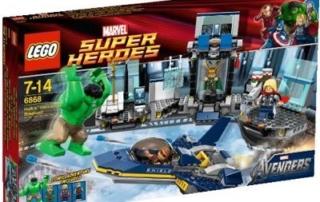 LEGO® SUPER HEROES: nei nuovissimi playset ritorna il mitico Iron Man!