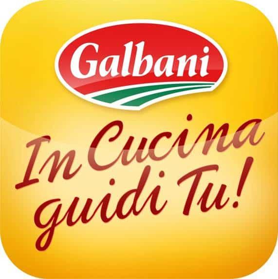 """""""In Cucina guidi Tu!"""", la nuova app Galbani con tante gustose ricette firmate Gambero Rosso!"""