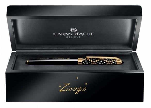 CARAN d'ACHE ZIVAGO LIMITED EDITION: la penna che celebra una storia d'amore indimenticabile