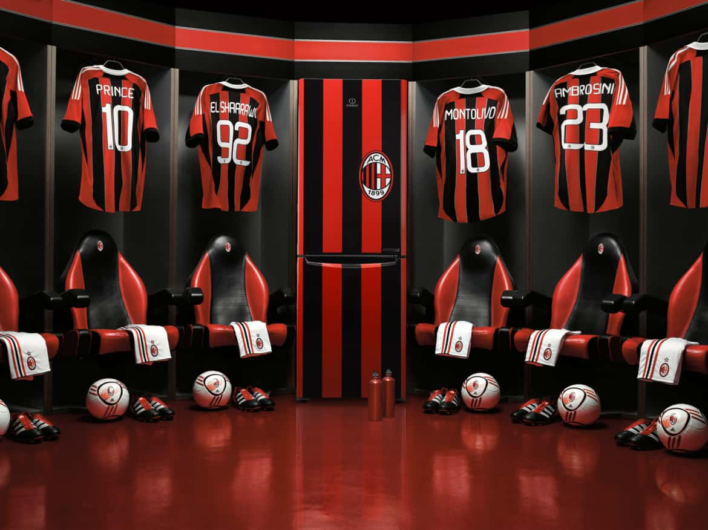 Tifi Milan? porta a casa il nuovo frigorifero ufficiale AC. Milan, tutto rosso-nero!