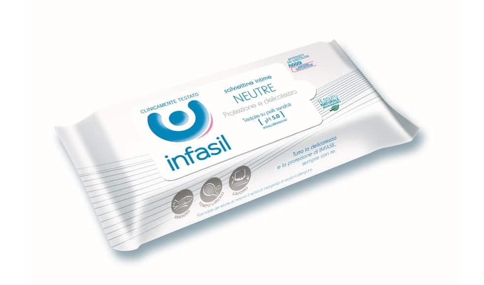 Nuove Salviettine Intime Infasil: ipoallergeniche e delicate sulla pelle più sensibile !