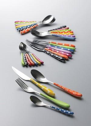 posate bugatti: un festival di decori e colori! - le shopping news