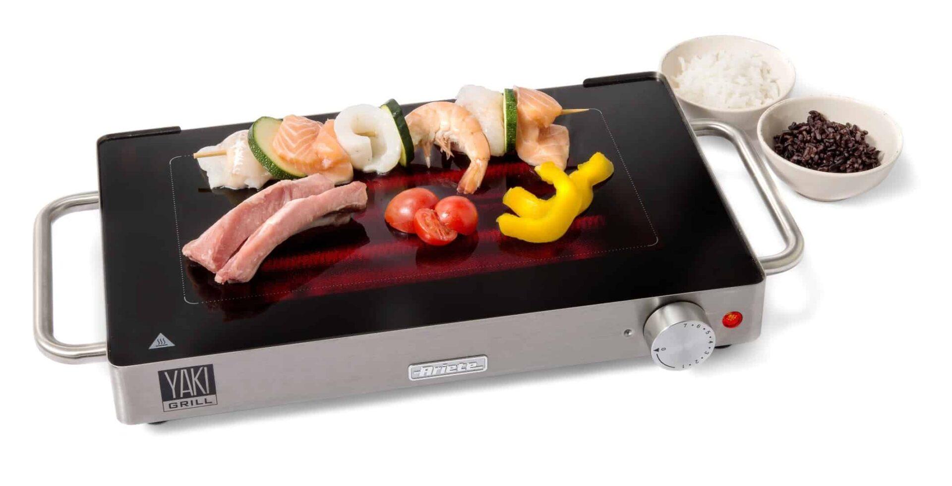 Yaki Grill, la prima griglia in vetroceramica a risparmio energetico dà un tocco di design al barbecue estivo