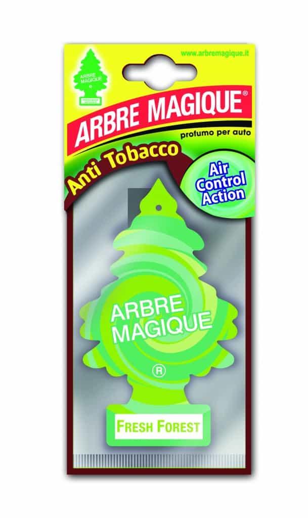 Niente odore di fumo in auto con Arbre Magique Anti Tobacco
