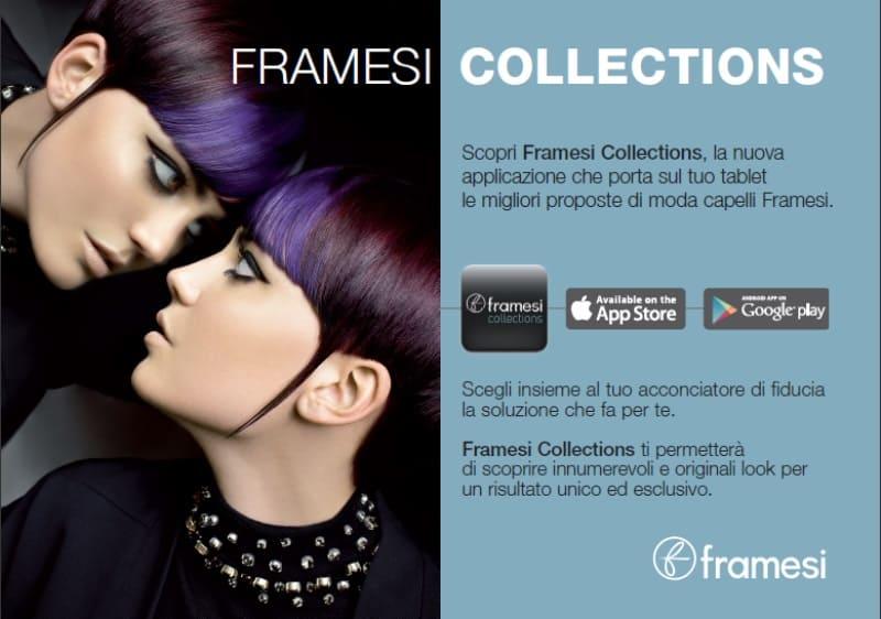 FramesiCollections: la nuova app per tablet che ti aiuta a cambiare il look dei tuoi capelli!